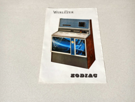 Flyer / Folder (Wurlitzer 3500 Zodiac)
