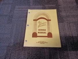 Service And Parts Manual (Wurlitzer 500/600) 1938