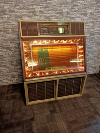 Rowe-AMi R-86 Gold Magic (1982) jukebox (Spelend!!) SOLD !!!