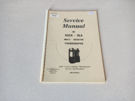Service Manual (Rock-ola Luxery Lightup) 1939