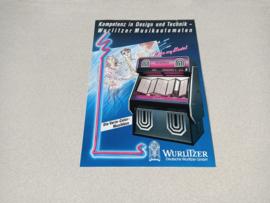 Flyer: Wurlitzer SL-900 Vinyl/CD jukebox (1989)