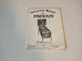 Instruction Manual (Strato-Flite) Williams 1974