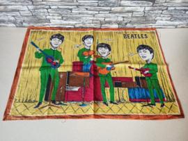 Thee doek The Beatles (1964) Verry Rare !!! (Groen)