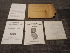 Operating instructions williams honey
