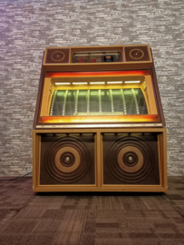 Rowe-AMi R-87 Gold Magic (1983) jukebox (Spelend!!)
