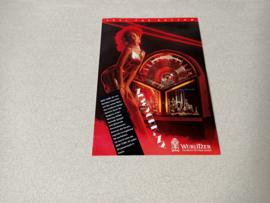 Flyer: Wurlitzer New York jukebox (1991)