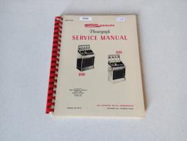 Service Manual (USA Versie) Seeburg Q100/ Q160