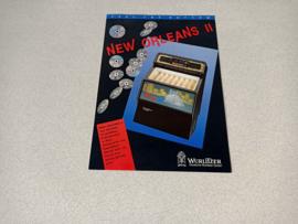 Flyer: Wurlitzer New Orleans II CD jukebox (1992)