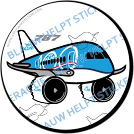 KLM Boeing 787 Dreamliner '100 jaar' sticker
