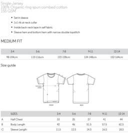 Kinder T-Shirt met Airplanesticker opdruk