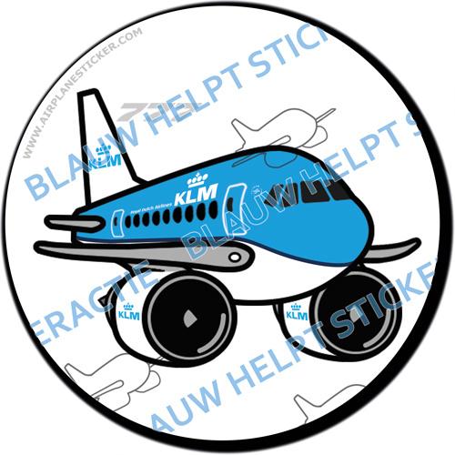 KLM Boeing 777 sticker