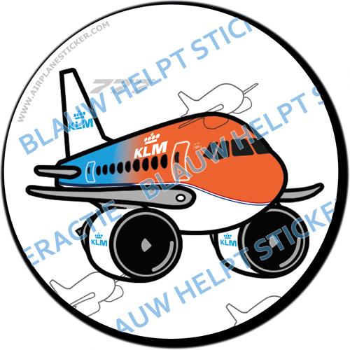 KLM Boeing 777 'Orange Pride' sticker