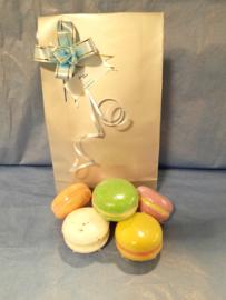 Cadeausetje macarons 6stuks