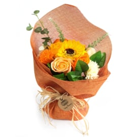 Bloemboeket staand oranje