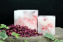 Betoverende kaars rozenblaadjes L