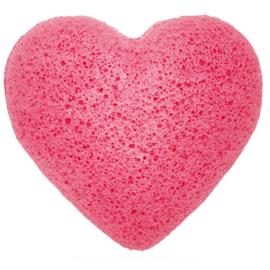 "Konjac spons rose ""heart"""