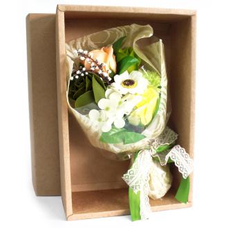 Bloemboeket groen special boxed