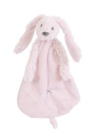 Happy Horse Rabbit Richie konijn pink knuffeldoekje met of zonder naam
