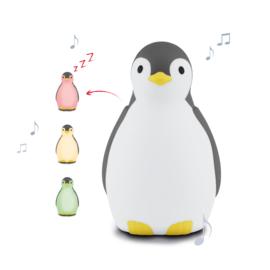 ZAZU - Slaaptrainer Pinguin - Pam Grijs