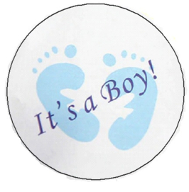 It's a boy sticker 20 stuks