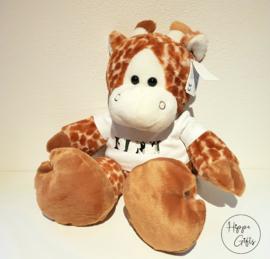 Giraffe met naam
