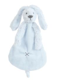 Happy Horse Rabbit Richie konijn blue knuffeldoekje met of zonder naam
