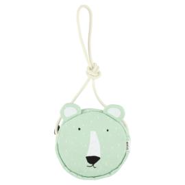 Ronde handtas - Mr. Polar Bear