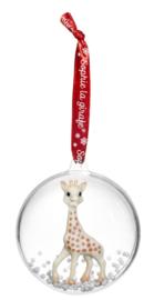Sophie de giraf kerstbal met of zonder naam