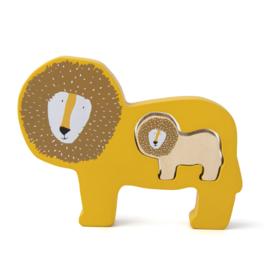 Houten babypuzzel - Mr. Lion - Trixie