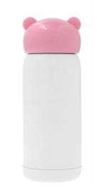 Thermofles roze diverse opdruk