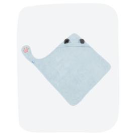 Handsfree Badcape - Lichtblauw Koala