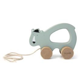 Houten trekspeeltje - Mr. Polar Bear - Trixie