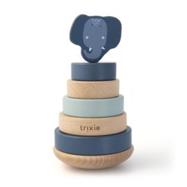 Houten stapeltoren - Mrs. Elephant - Trixie