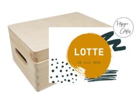 Bewaarkist - Lotte