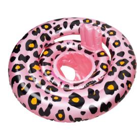 Baby float Panterprint Rosé goud 0-1 jaar - Swim Essentials