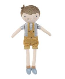 Knuffelpop Jim 35 cm met of zonder naam