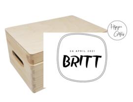 Bewaarkist - Britt