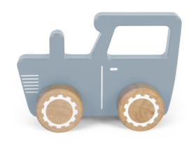Tractor met of zonder naam