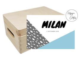 Bewaarkist - Milan