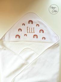 Baby handdoek diverse opdruk