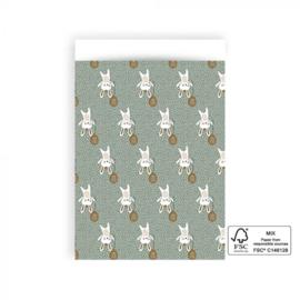 5x Cadeauzakje | Baby Bunny - L