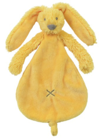 Happy Horse Rabbit Richie konijn yellow knuffeldoekje met of zonder naam