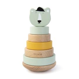 Houten stapeltoren - Mr. Polar Bear - Trixie