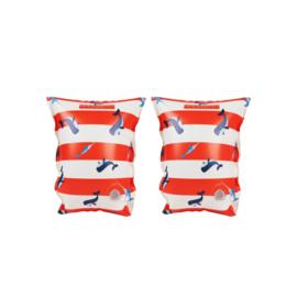 Walvis Rood Zwembandjes 0-2 jaar - Swim Essentials