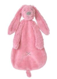 Happy Horse Rabbit Richie konijn deep pink knuffeldoekje met of zonder naam