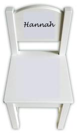Ikea Sundvik kinderstoel Naamsticker