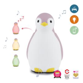 ZAZU - Slaaptrainer Pinguin - Pam Roze