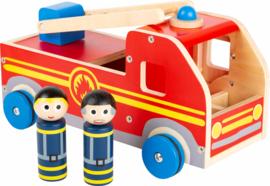 Speelgoed autobrandweer met of zonder naam