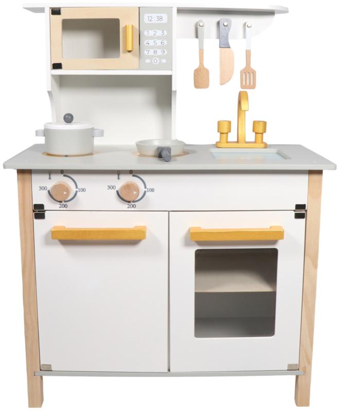 Tryco Houten Keuken Wit Goud Houten Speelgoed Vanaf 30 Hippe Gifts