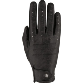 Handschoen Roeckl Malaga zwart stoned